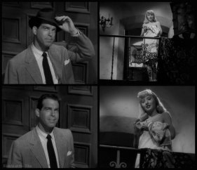 MacMurray in the classic film noir, Double Indemnity (1944)
