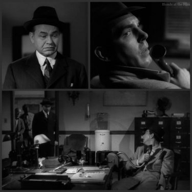 Double Indemnity Robinson MacMurray office end