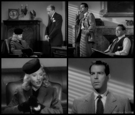 Double Indemnity Stanwyck Gaines MacMurray Robinson