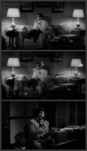 Double Indemnity Stanwyck MacMurray cross dissolve