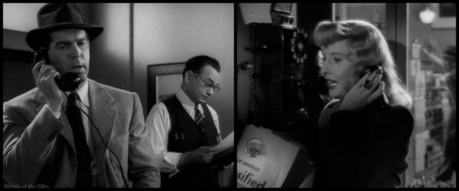 Double Indemnity Stanwyck MacMurray phone