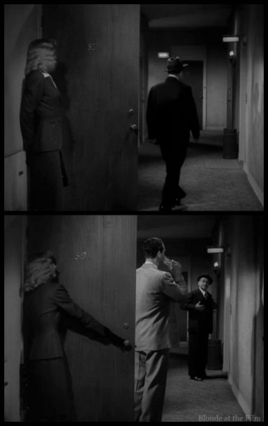 Double Indemnity Stanwyck MacMurray Robinson door 1