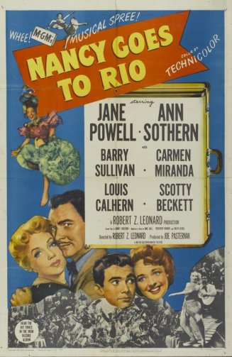via: http://www.tcm.com/tcmdb/title/1696/Nancy-Goes-to-Rio/#tcmarcp-411474