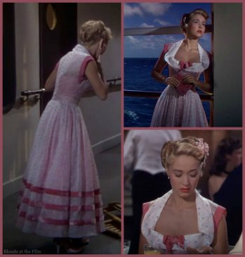Nancy Rio Powell pink dress