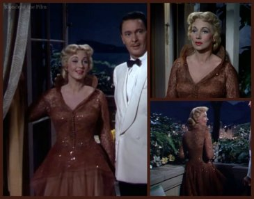 Nancy Rio Sothern brown gown