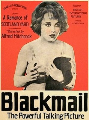 Alfred Hitchcock's first sound film, which he also shot silent via: https://en.wikipedia.org/wiki/Blackmail_(1929_film)