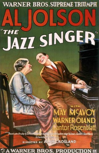 The first big sound hit via: http://www.tcm.com/tcmdb/title/3140/The-Jazz-Singer/#tcmarcp-184565