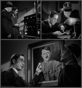 All Through the Night Bogart Demarest office