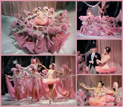 Ziegfeld Follies Astaire Charisse pink