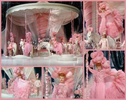 Ziegfeld Follies Ball pink