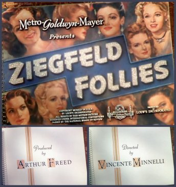 Ziegfeld Follies titles