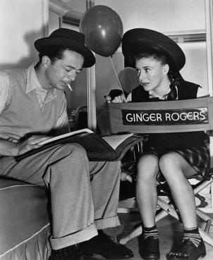 Wilder and Rogers on set via: http://www.skirball.org/media/image/681