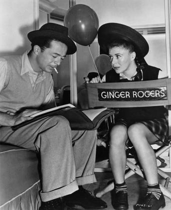 Wilder and Rogers on set via: http://www.skirball.org/media/image/681