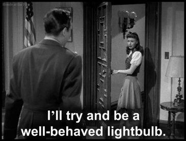 Major Minor Milland Rogers lightbulb
