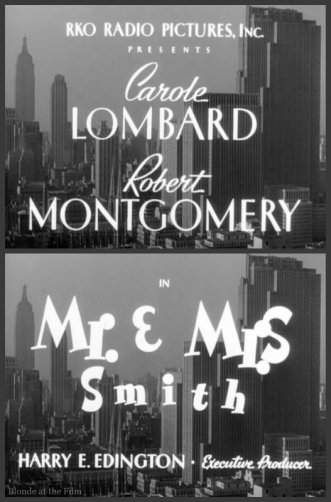 Mr and Mrs Smith titles
