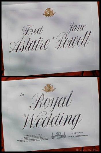 Royal Wedding titles