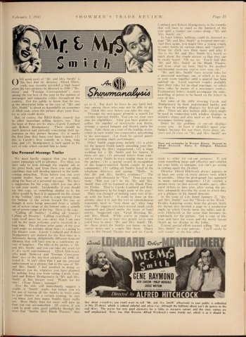 Showmen's Trade Review, February 1, 1941 via http://lantern.mediahist.org