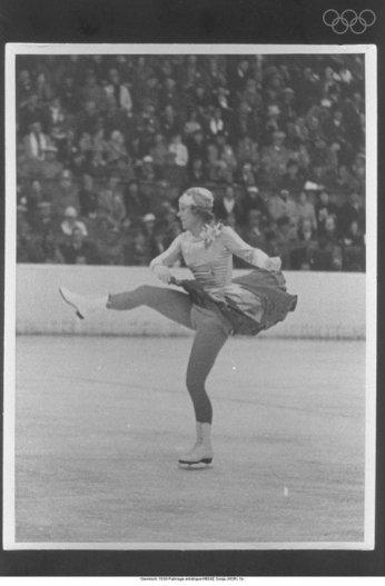 Henie at the 1936 Olympics via: http://www.olympic.org/multimedia-player/all-photos/1936/01/01/raadr049/