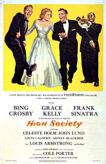 High Society: Grace Kelly, Frank Sinatra and Bing Crosby