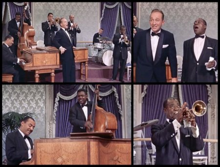 High Society: Louis Armstrong and Bing Crosby