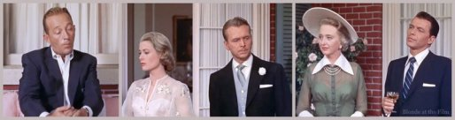 High Society: Grace Kelly, Bing Crosby, John Lund, Frank Sinatra, and Celeste Holm