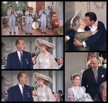High Society: Grace Kelly, Bing Crosby, Louis Armstrong, Frank Sinatra, and Celeste Holm