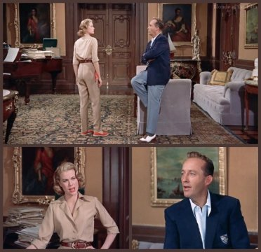 High Society: Grace Kelly and Bing Crosby