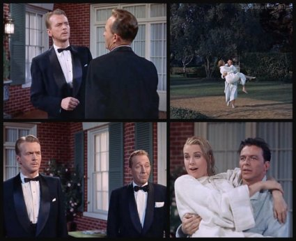 High Society: Grace Kelly, John Lund, Bing Crosby, and Frank Sinatra