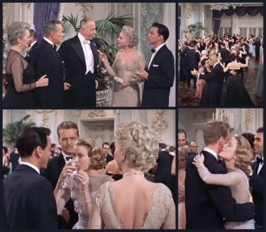 High Society: Grace Kelly, Bing Crosby, John Lund, Frank Sinatra, Louis Calhern, and Celeste Holm