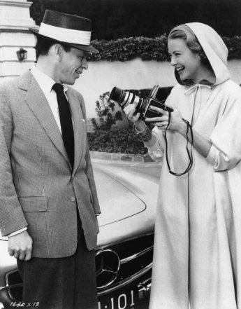 High Society: Grace Kelly and Frank Sinatra