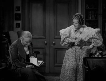 Pride and Prejudice: Edmund Gwenn and Mary Boland