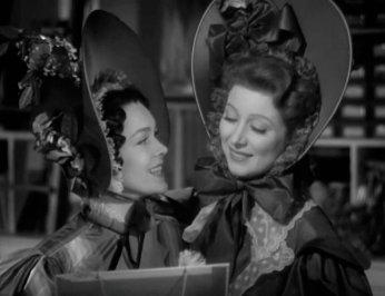 Pride and Prejudice: Greer Garson and Maureen O'Sullivan