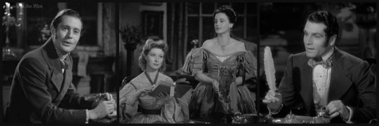 Pride and Prejudice: Greer Garson, Frieda Inescort, and Laurence Olivier