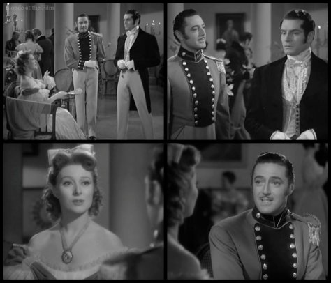 Pride and Prejudice: Greer Garson, Edward Ashley, and Laurence Olivier