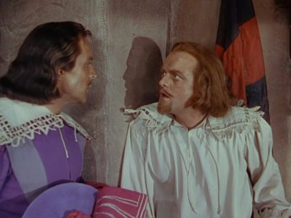 The Three Musketeers: Gene Kelly and Van Heflin