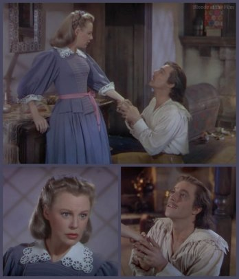 The Three Musketeers: Gene Kelly and June Allyson