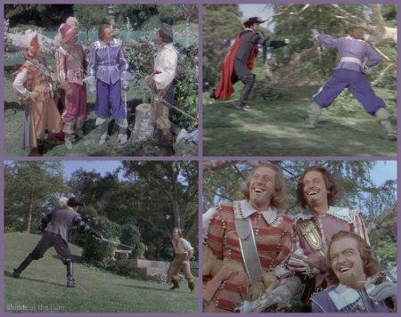 The Three Musketeers: Gene Kelly and Van Heflin
