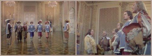 The Three Musketeers: Gene Kelly, Henry Morgan, and Van Heflin