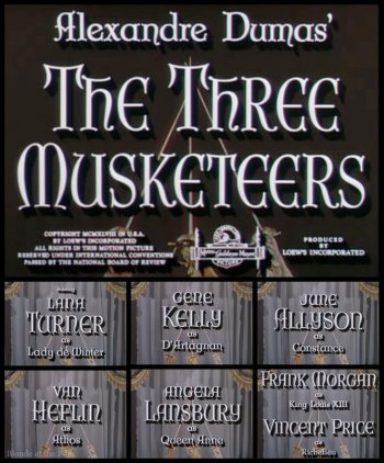 an analysis of the role of the three musketeers Of the three musketeers after  and the irony being that fouquet plays a major role in saving  dogtanian and the three muskehounds (1981) the three musketeers.