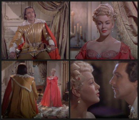 The Three Musketeers: Gene Kelly and Lana Turner