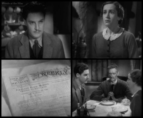 The 39 Steps: Robert Donat and Peggy Ashcroft