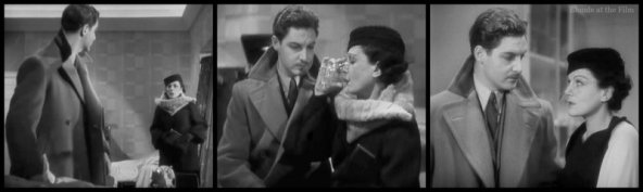 The 39 Steps: Robert Donat and Lucie Mannheim