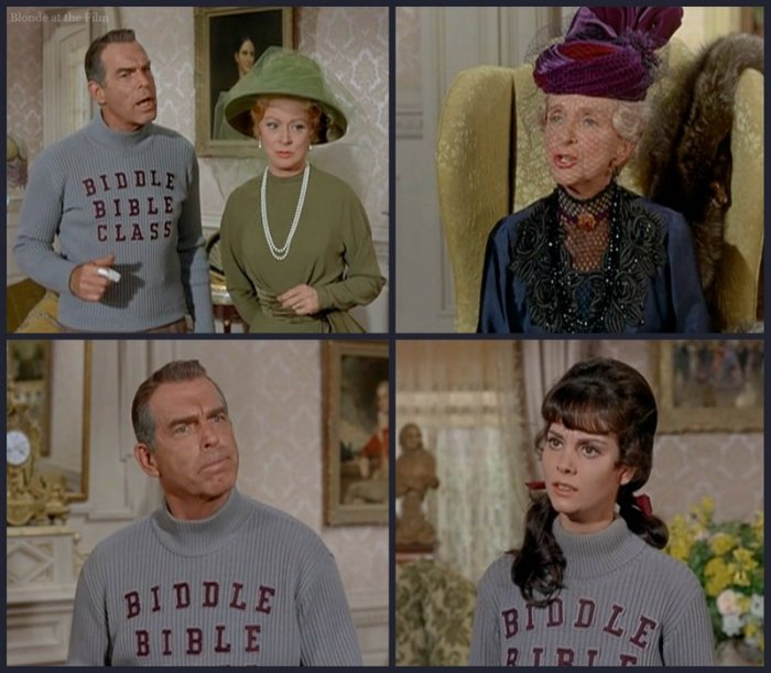 The Happiest Millionaire: Lesley Ann Warren, Fred MacMurray, Greer Garson, and Gladys Cooper