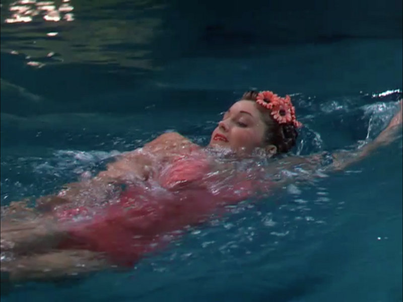 History Through Hollywood Esther Williams Swimmer The Blonde At The Film