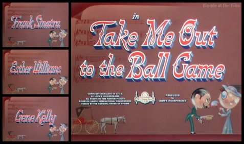 Take Me Out to the Ball Game: Esther Williams, Frank Sinatra, and Gene Kelly