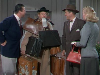 It's A Great Feeling: Doris Day, Jack Carson, Danny Kaye, and Dennis Morgan