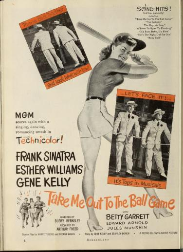 Take Me Out to the Ball Game: Esther Williams