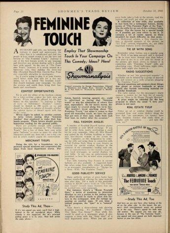 Advertising strategies suggested in Showmen's Trade Review, October 11, 1941. via: http://lantern.mediahist.org/catalog/showmenstraderev35lewi_0064