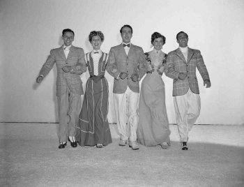Take Me Out to the Ball Game: Frank Sinatra, Betty Garrett, Esther Williams, Jules Munshin, and Gene Kelly