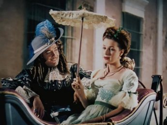 The Black Swan: Maureen O'Hara and Edward Ashley